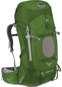 Рюкзак туристический Osprey Aether 60 л Bonsai Green MD