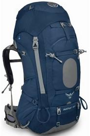 Рюкзак туристический Osprey Aether 60 л Midnight Blue MD