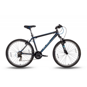 """Велосипед горный 26'' Pride XC-2.0 черно-синий матовый, рама - 15"""""""