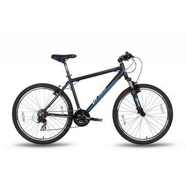Велосипед горный 26'' Pride XC-2.0 черно-синий матовый, рама - 15