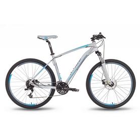 """Велосипед горный 27,5"""" Pride XC-650 MD серо-синий матовый, рама - 21"""""""