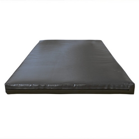 Мат гимнастический Sportko МГ-1 200x100x8см кожвинил черный