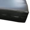 Мат гимнастический Sportko МГ-1 200x100x10см кожвинил черный - фото 4