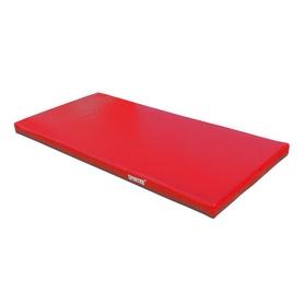 Мат гимнастический Sportko МГ-1 200x100x10см ПВХ красный