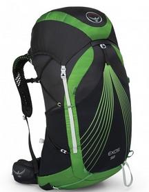 Рюкзак туристический Osprey Exos 58 л Basalt Black LG