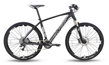 Велосипед горный Pride XC-650 PRO 2.0 27,5'' 2016, черно-белый матовый рама - 17