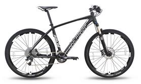 """Велосипед горный Pride XC-650 PRO 2.0 27,5'' 2016, черно-белый матовый рама - 17"""""""