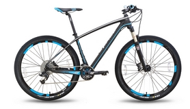 """Велосипед горный Pride XC-650 PRO 3.0 27,5'' 2016, черно-синий матовый  рама - 17"""""""