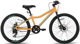 Велосипед подростковый Pride Pilot 7 2016 оранжево-синий матовый, рама - 24''