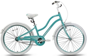"""Велосипед подростковый городской Pride Sophie 2016 бирюзовый глянцевый, рама - 24"""""""