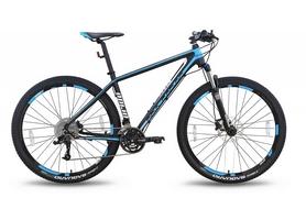 """Велосипед горный Pride XC-29 Pro 1.0 29"""" 2016 черно-синий матовый, рама - 21"""""""