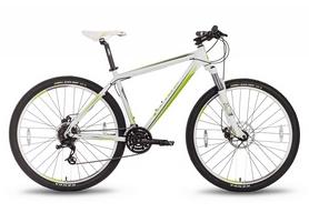 """Велосипед горный Pride XC-29 MD 29"""" 2016 бело-зеленый матовый, рама - 21"""""""