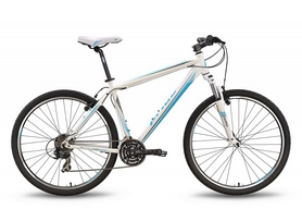 """Велосипед горный Pride XC-650 V 27,5"""" 2016 бело-синий матовый, рама - 21"""""""