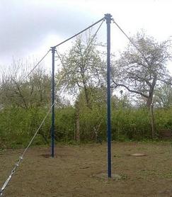 Турник гимнастический регулируемый по высоте (Украина)