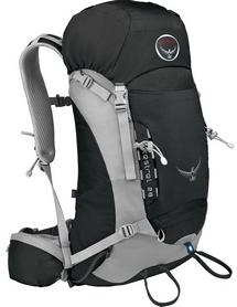 Рюкзак туристический Osprey Kestrel 58 л Ash Grey серый S/M