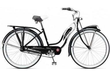 Велосипед городской Schwinn Classic Deluxe 7 thru step frame 2015 black, рама - 26