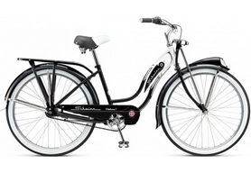 "Велосипед городской Schwinn Classic Deluxe 7 thru step frame 2015 black, рама - 26"""