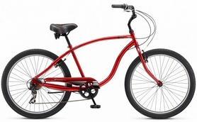 Велосипед городской Schwinn Corvette 2015 dark red - 26""
