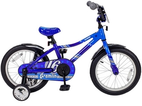 Велосипед детский Schwinn Gremlin Boys 2016 blue/light blue - 16""
