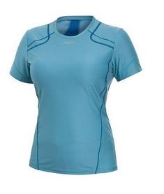 Футболка женская Craft Pr Tee Wmn голубая