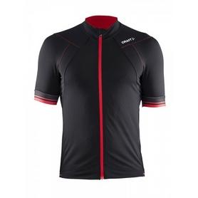 Велофутболка мужская Craft Puncheur Jersey M черный с красным