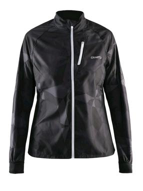 Куртка женская Craft Devotion Jacket W черная с белым