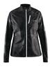 Куртка женская Craft Devotion Jacket W черная с белым - фото 1