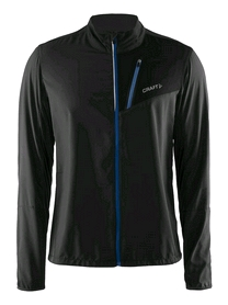 Куртка мужская Craft Devotion Jacket M черная с синим