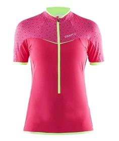 Велофутболка женская Craft Free Jersey W розовая