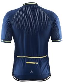 Фото 2 к товару Велофутболка мужская Craft Glow Jersey Man темно-синяя