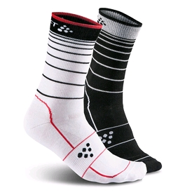 Носки мужские Craft Gran Fondo Sock-2-Pack black/white