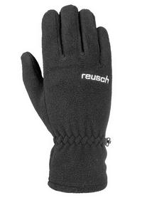 Перчатки горнолыжные подростковые Reusch Magic Junior черные