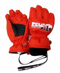 Перчатки горнолыжные детские Reusch Kids красные