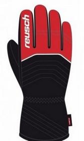 Перчатки горнолыжные мужские Reusch Bero R-TEXXT fire red/black