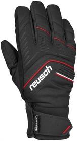 Перчатки горнолыжные мужские Reusch Linus GTX black/fire red