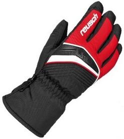 Перчатки горнолыжные Reusch Torrent GTX fire red/black