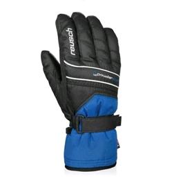 Перчатки горнолыжные мужские Reusch Powderstar R-texxt imper blue/black