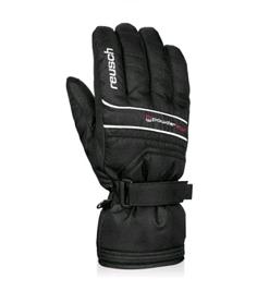 Перчатки горнолыжные мужские Reusch Powderstar R-texxt black/white