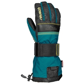 Перчатки горнолыжные мужские Reusch Doublebeat R-TEX XT deep lake/Alhambra