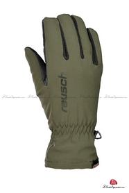Перчатки горнолыжные мужские Reusch Tornado STORMBLOXX зеленые