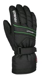 Перчатки горнолыжные мужские Reusch Powderstar R-tex xt green
