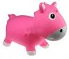 Прыгун-лошадка Kidzzfarm Гарри с насосом розовый - фото 1