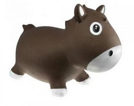 Прыгун-лошадка Kidzzfarm Гарри с насосом коричневый