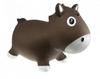 Прыгун-лошадка Kidzzfarm Гарри с насосом коричневый - фото 1