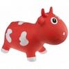 Прыгун-коровка Kidzzfarm Бэлла с насосом оранжевый - фото 1