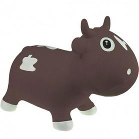Прыгун-коровка Kidzzfarm Бэлла с насосом коричневый