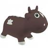 Прыгун-коровка Kidzzfarm Бэлла с насосом коричневый - фото 1