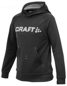 Толстовка Craft Stretch Hood J черная