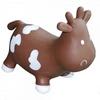 Прыгун-коровка Kidzzfarm Бетси с насосом коричневый - фото 1