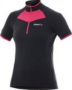 Велофутболка Craft AB Classic Jersey Wmn черная